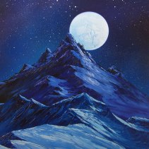 Glimmering-Moon
