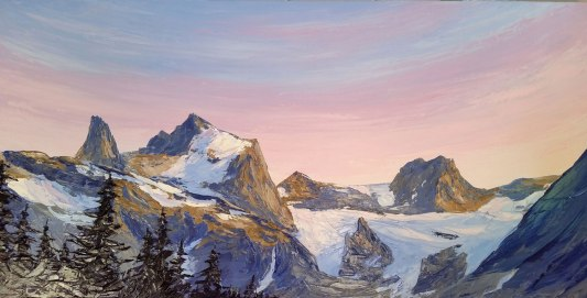 Horseshoe-Glacier-Sunset