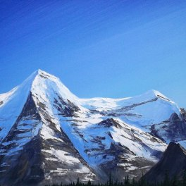 Mt Robson Approach
