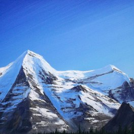 Mt-Robson-Approach