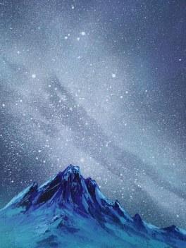Turquoise Galaxy