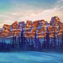 Castle Mountain Morning