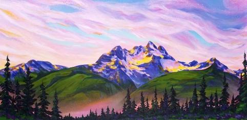 Trout Mountain Sunrise